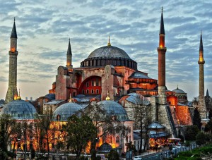 Древната Света София в Истанбул