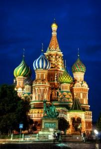 Храмът Свети Василий в Москва