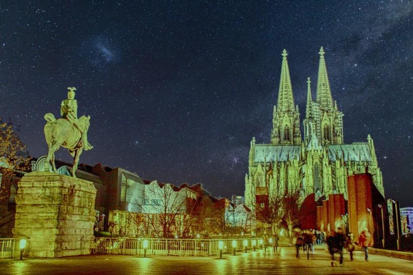 корица, катедралата в Cologne